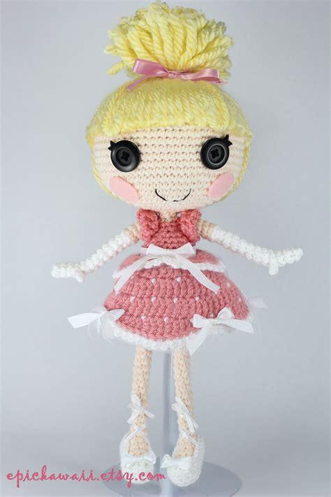 lalaloopsy cinder slippers lalaloopsy cinder slippers crochet amigurumi doll by