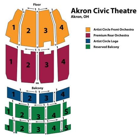 akron civic theatre seating chart cathedrals family reunion tickets fri nov 7 2014 at 12