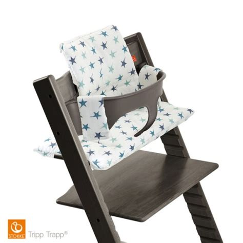 chaise haute tripp trapp stokke coussin 233 toiles bleues pour chaise haute tripp trapp