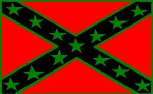confederate flag rebel flag in colors