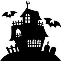 Haunted House Outline by Silhouette Design Store View Design 21365 Haunted House