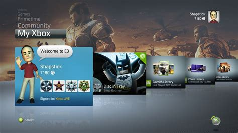 new themes xbox 360 new xbox 360 dashboard displaying themes monstervine