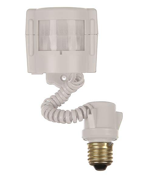 motion sensor light control xodus innovations motion sensor light control 2 pack white