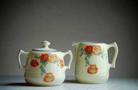 retro orange poppies kitchen canisters set and breadboard 1000 images about orange poppy dishes on pinterest