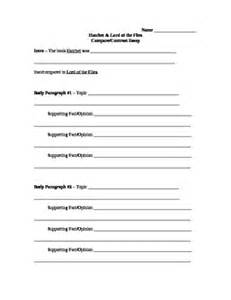 Compare And Contrast Essay Template by A Compare And Contrast Paper Exle