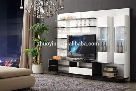 hot designs mdf tv stands with showcase 841 india style tv simple tv lcd wooden cabinet with showcase tv stand