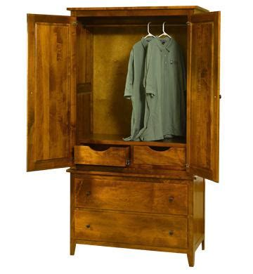 Casual Bedroom Armoire Jamestown Square Casual 2 Armoire With Four Drawers