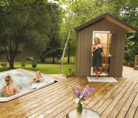 finnleo outdoor saunas patio series