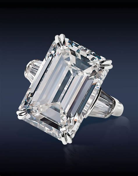6 80 Ct Emerald Certified hrd certified 18 03 ct h internally flawless emerald cut
