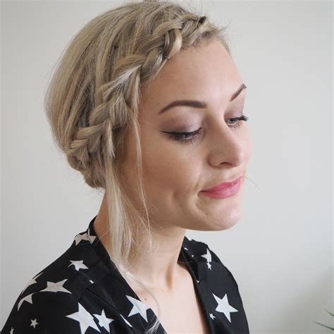 hairstyles for unfinished braids 3 diy party looks for short hair made up style