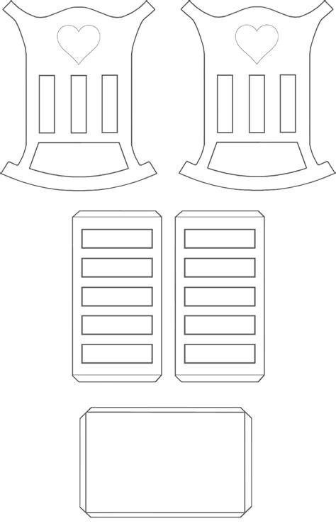 Molde berço de papel para imprimir - MyKingList.com