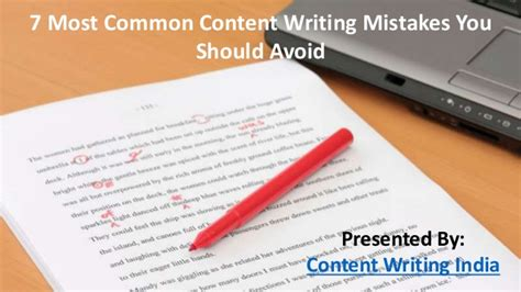 Common Date Mistakes You Should Avoid by 7 Most Common Content Writing Mistakes You Should Avoid