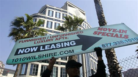Apartment For Rent Los Angeles Time What To Do About L A S Sky High Rents Latimes