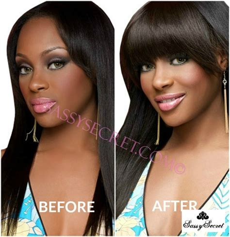 clip on bangs for african american hair human hair light yaki african american clip in bangs fringe for