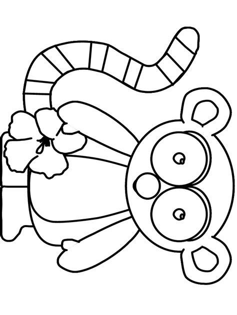 mouse lemur coloring page lemur animals coloring pages coloring book