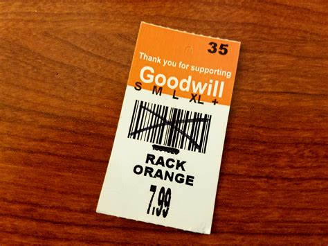 goodwill color tags goodwill of southern nevada thrifting tip color of the