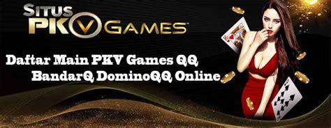 daftar main pkv games judi  dominoqq bandarqq