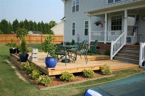 profile deck deck ideas   ground level deck