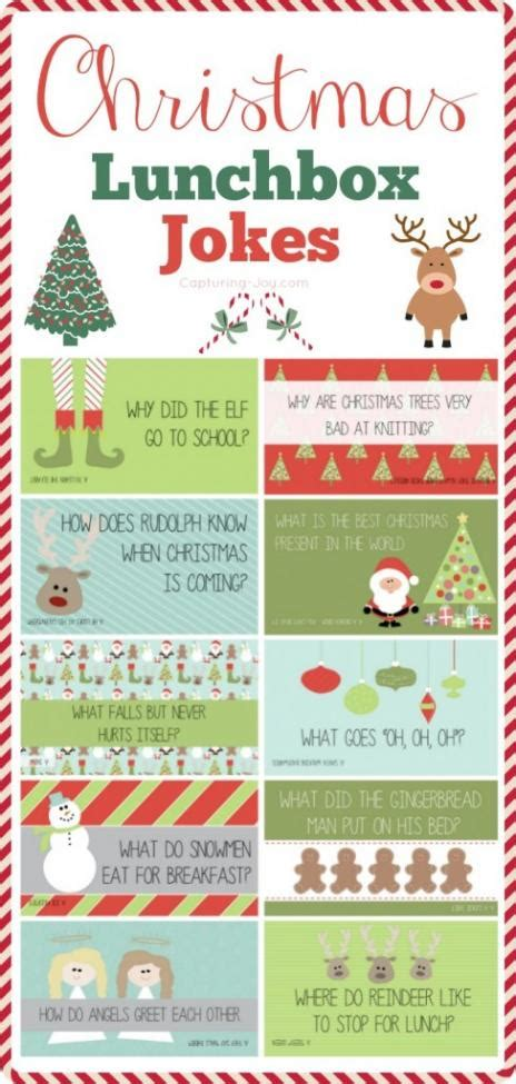 printable lunchbox jokes 7 free printable christmas lunchbox notes spaceships and