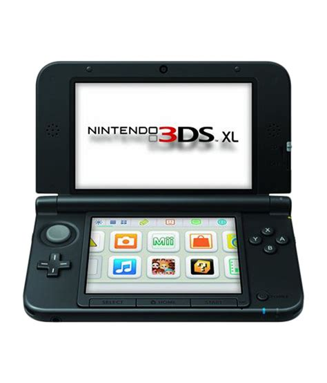 nintendo 3ds xl console best price buy nintendo 3ds xl console black at best