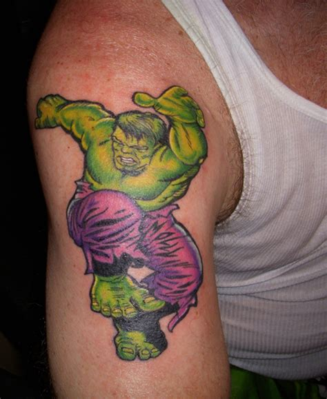 incredible hulk tattoos picture at checkoutmyink