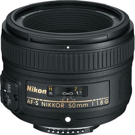 nikon af s nikkor 50mm f 1 8g lens refurbished 2199b b h photo