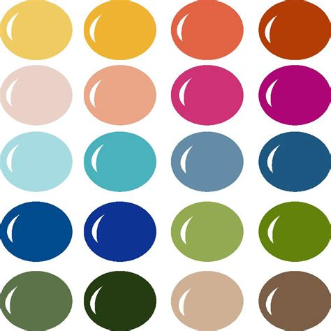 2017 color palettes 100 2017 color palettes design with greenery 5