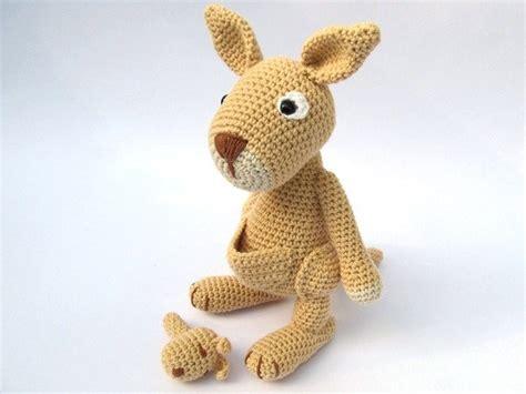 amigurumi kangaroo pattern mama kangaroo amigurumi crochet pattern