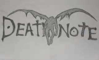 death note logo drawing lallie 169 2017 oct 26 2011