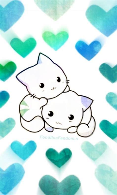 imagenes de fondo de pantalla kawai fondo de pantalla de gatitos kawaii ig fonditosfanfom