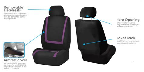 purple seat covers for cars black purple car seat covers with gray rubber floor mats
