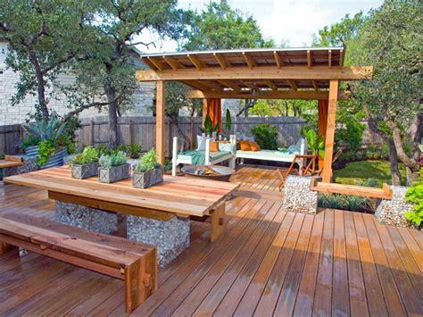 rustic backyard designlarge floating deck plans with