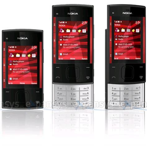 Flexi Nokia X3 Ori nokia x3 slide on black clickbd