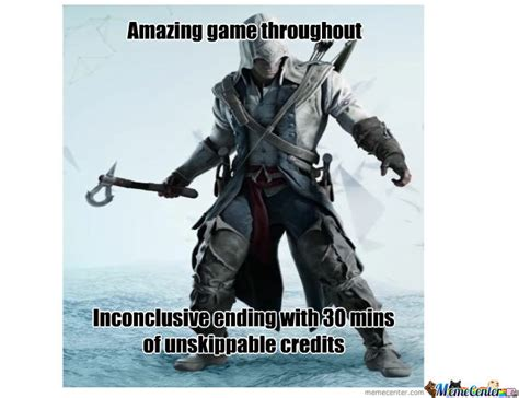 Funny Assassins Creed Memes - scumbag assassin s creed 3 by asmooth meme center