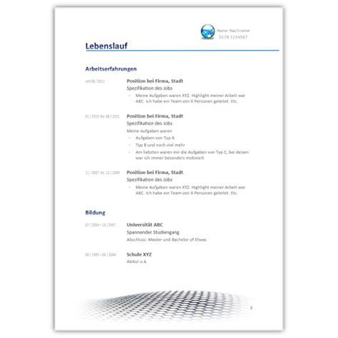 Lebenslauf Vordruck 2016 by Lebenslauf 2016 Muster Aufbau Gestaltung Tipps