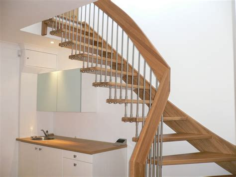 wood stair case designer wooden staircase stanmore middlesex timber