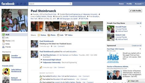 facebook themes website info on and access to the newest facebook layout church