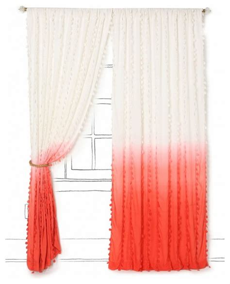 Ombre Window Curtains Wavering Ombre Curtain Contemporary Curtains By Anthropologie