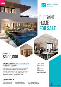 real estate flyer design templates premium real estate flyer template freedownloadpsd