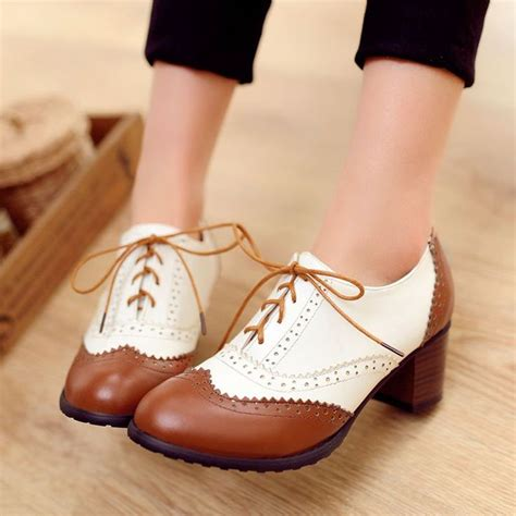 womens high heel oxford shoes 17 best ideas about oxford heels on oxford