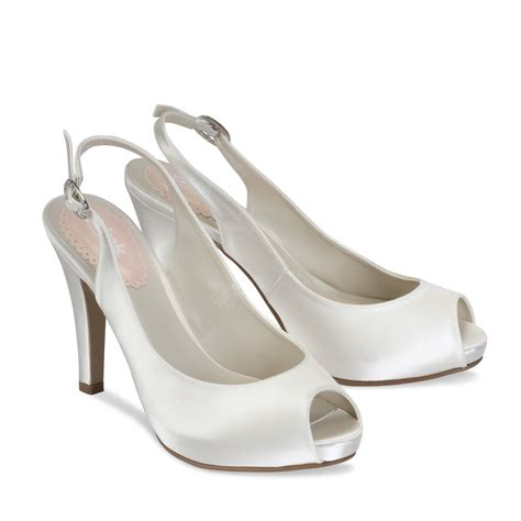 ivory satin shoes ivory satin shoes 28 images womens low kitten heel