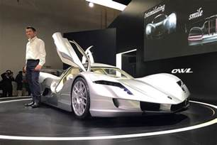 Electric Cars For Sale Japan Aspark Owl Japan S Take On The All Electric Hypercar At
