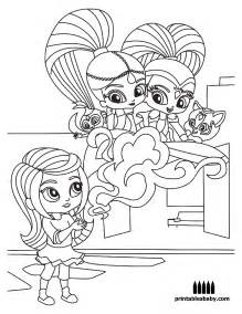 shimmer and shine coloring pages printable shimmer and shine printablesbaby 3 printables baby