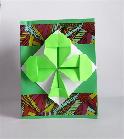 Origami St - 14 and festive ideas for your st s day