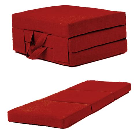 fold futon fold out guest mattress foam bed single double sizes
