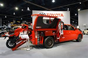 Toyota Motorcycles 2009 Toyota Tundra Ducati Transporter 187 Motorcycle News