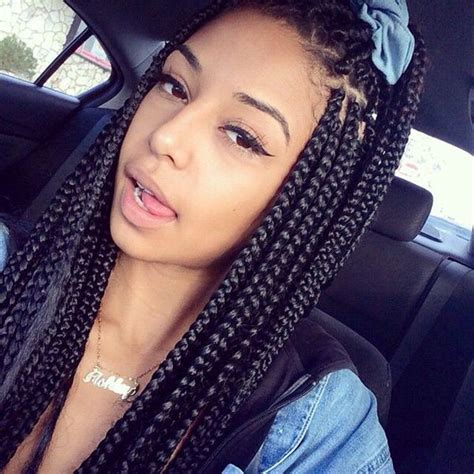 cute braids haistyles for box braids 79 sophisticated box braid hairstyles with tutorial