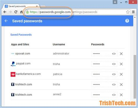 saved passwords android delete passwords saved by smartlock passwords in android