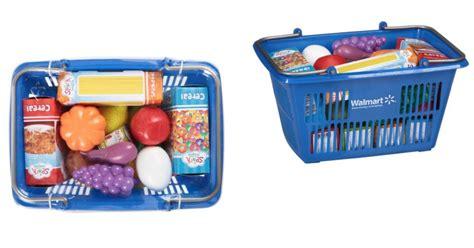 walmart spark create imagine shopping basket play food
