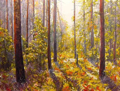 acrylic paint on canvas landscape maxim grunin drawing painting landscape paintings 2010